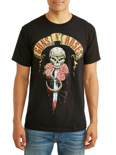 Guns N' Roses  T-shirt Rock Vintage style Original tee 80's classic band GNR