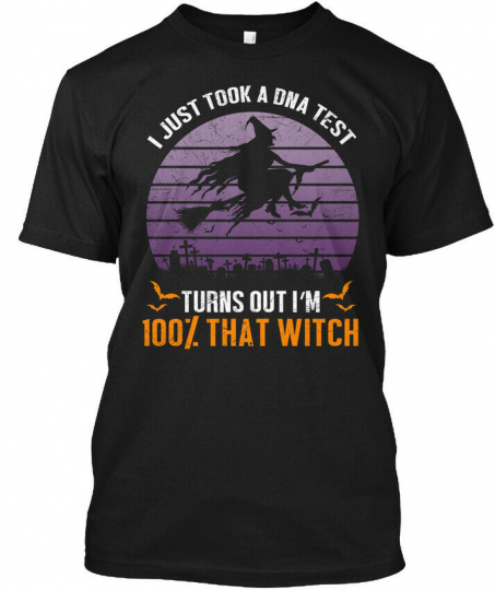 Halloween Pun Witch Costume Hanes Tagless Tee T-Shirt