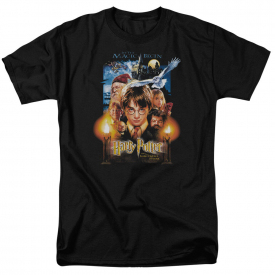 Harry Potter MOVIE POSTER Licensed Adult T-Shirt All Sizes