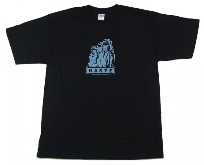 Haste Nurses Black T Shirt New Official Band Merch