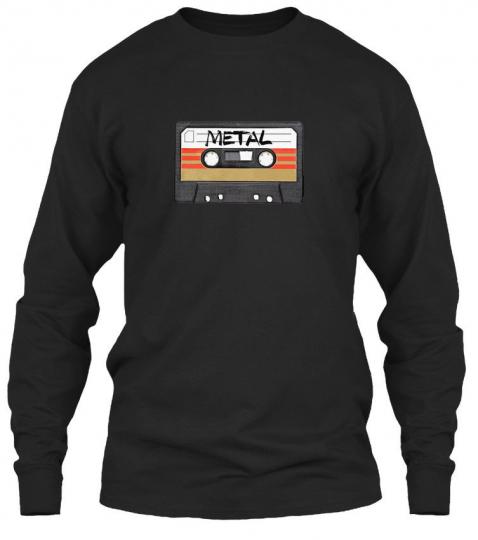 Heavy Metal Music Band Gildan Long Sleeve Tee T-Shirt