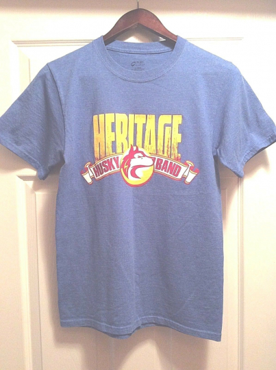 Heritage Husky Band Proud Member T-Shirt Adult Size Small Port & Company