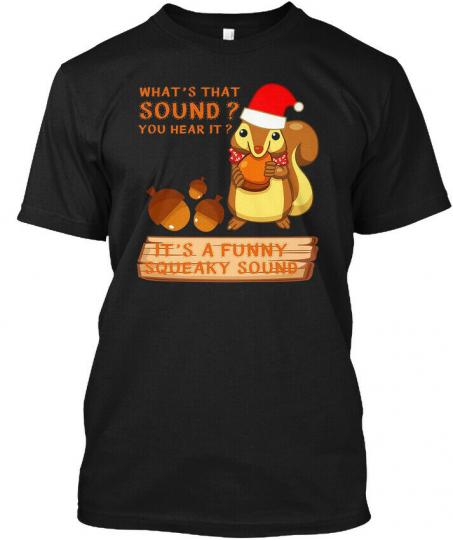 Hilarious Christmas Squirrel Vacat Hanes Tagless Tee T-Shirt