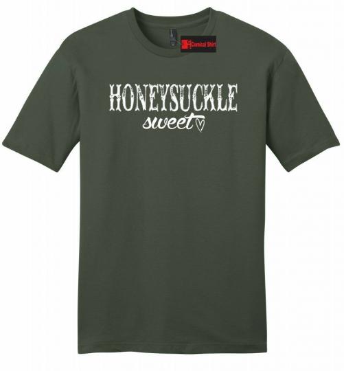 Honeysuckle Sweet Mens Song T Shirt Country Music Song Redneck Gift Tee Z2
