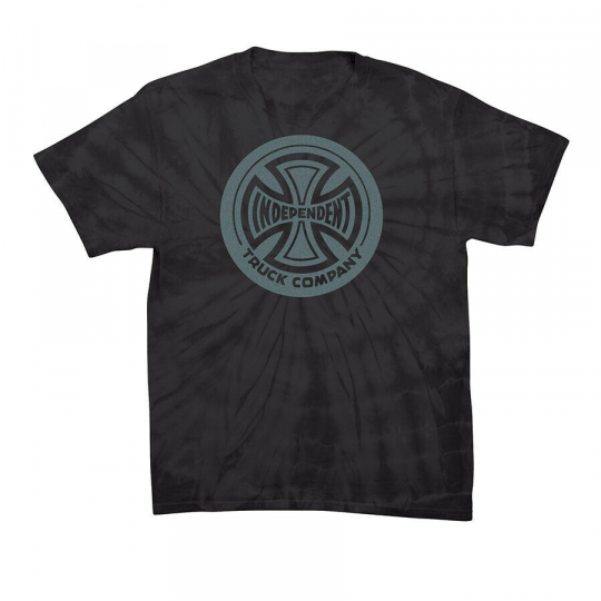 INDEPENDENT Skateboards Shirt FOUNTAIN T/C BLACK Sz MED