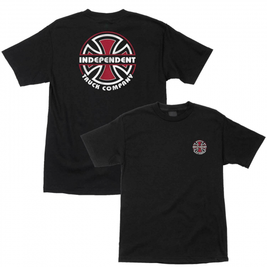 Independent Skateboard Shirt ITC Bauhaus Black
