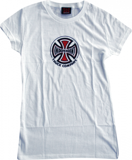 Independent Truck Co Youth T-Shirt - Size: LARGE White