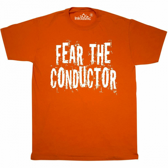 Inktastic Music Conductor Grunge T-Shirt Band Director Musical Musici