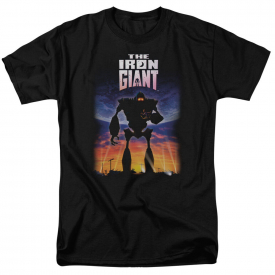 Iron Giant Movie POSTER Licensed Adult T-Shirt All Sizes