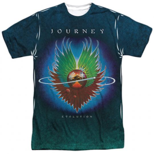 JOURNEY EVOLUTION SUB Front Print Sublimation Licensed Men's Tee Shirt SM-3XL