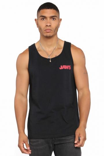 Jaws Men's Tank Top, Black