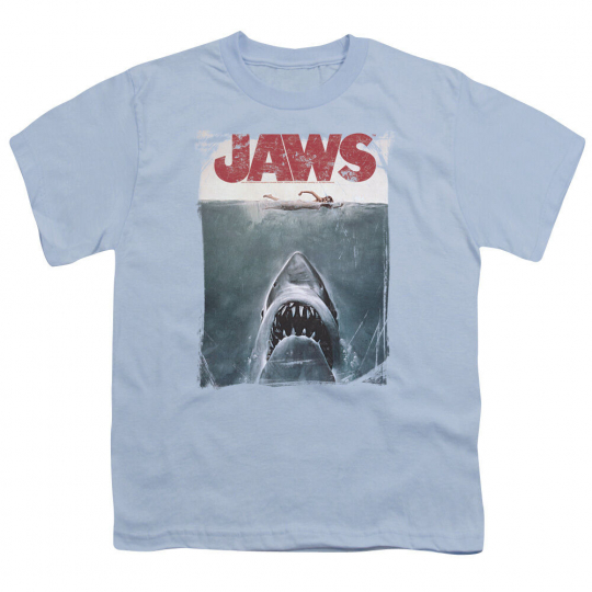 Jaws Movie Poster Vintage Style Licensed BOYS & GIRLS T-Shirt S-XL