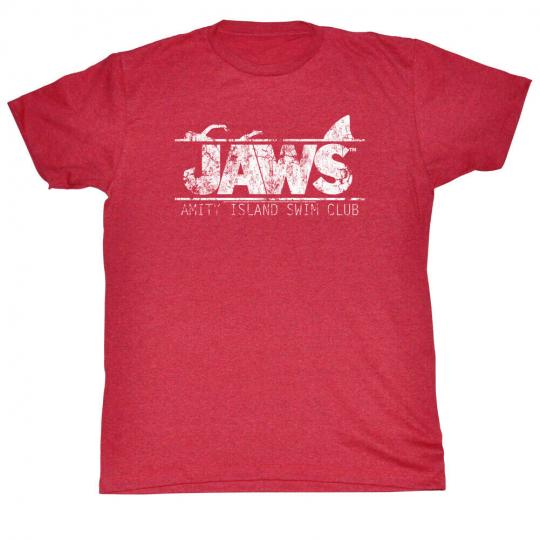 Jaws Swim Club Adult T-Shirt Tee