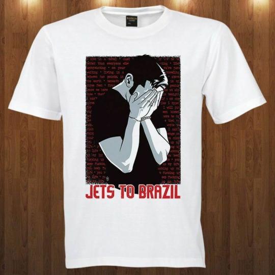 Jets to Brazil tee indie rock band Blake Schwarzenbach S M L XL 2XL 3XL T-shirt