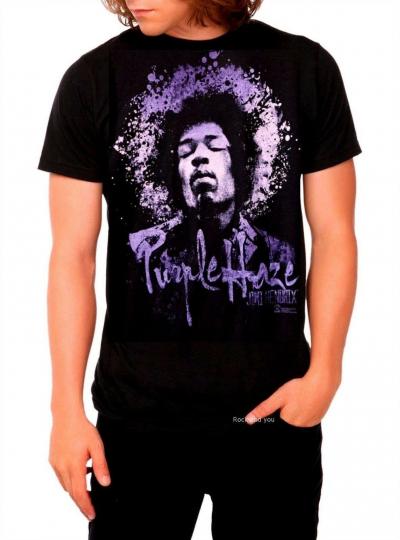 Jimi Hendrix T-Shirt Purple Haze blues RAB rock Official M Last NWT