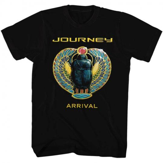 Journey Arrival Black Adult T-Shirt