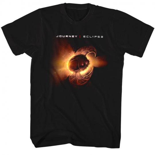Journey Eclipse Album Cover Men's T Shirt Space Scarab Rock Band Concert