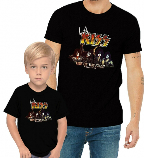 KISS Band 2020 End Of The Road World Tour LA Music Concert Adults