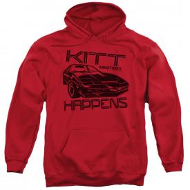 Knight Rider TV Show KITT HAPPENS KITT Car Sweatshirt Hoodie
