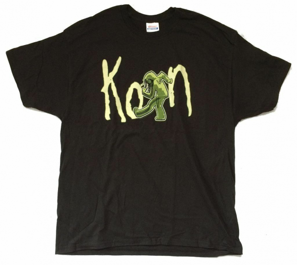 Korn Zombie Slam 2010 Tour Black T Shirt New Official