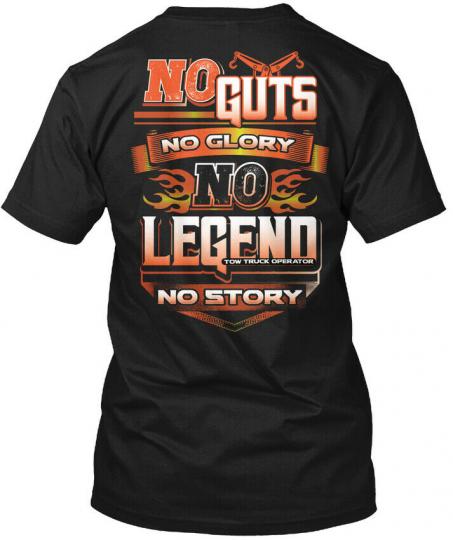 Legend Tow Truck Operator Hanes Tagless Tee T-Shirt