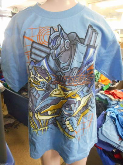 Licensed Youth Transformers Autobots Shirt New L (14-16)
