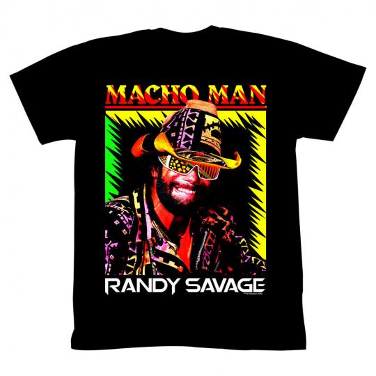 Macho Man Wrestler Time Of My Life Adult T-Shirt Tee