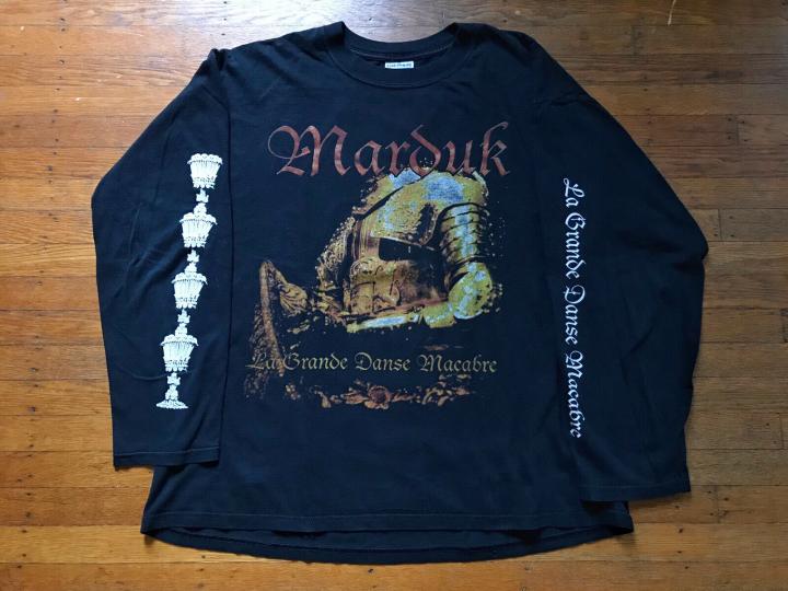Marduk Grand Danse Macabre Long Sleeve XL Black Metal