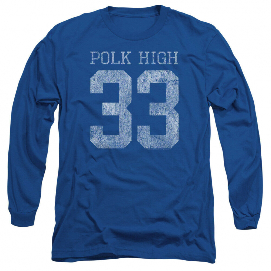 Married With Children TV Show POLK HIGH 33 Adult Long Sleeve T-Shirt S-3XL