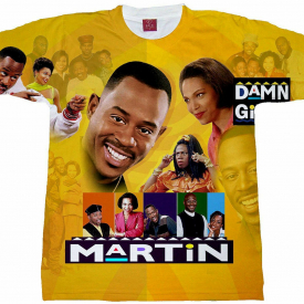 Martin TV Show T-shirt. Adult And Youth Sizes.