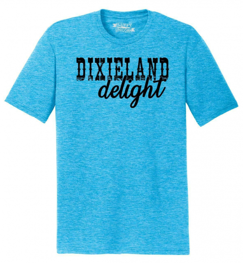 Mens Dixieland Delight Tri-Blend Tee Country Music Redneck