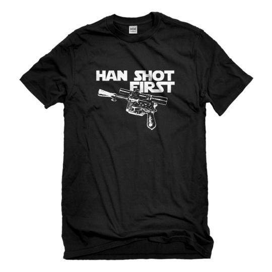 Mens Han Shot First Short Sleeve T-shirt #3039