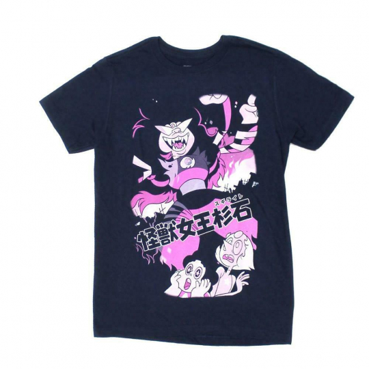 Mens Navy Steven Universe Issue #7 Comic Cover Japanese Tee T-Shirt