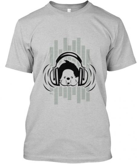 Monchhichi Music Hanes Tagless Tee T-Shirt