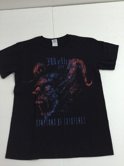 Mother of Mercy - Symptoms of Existence Band T-Shirt, Black, Men's Size S