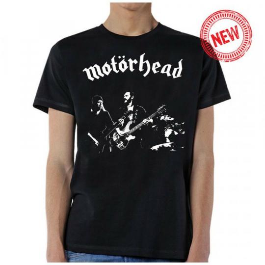 Motorhead-Band Photo-X-Large Black T-shirt