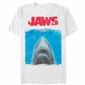 Movie Jaws Shark Movie Poster Tee Shirt New