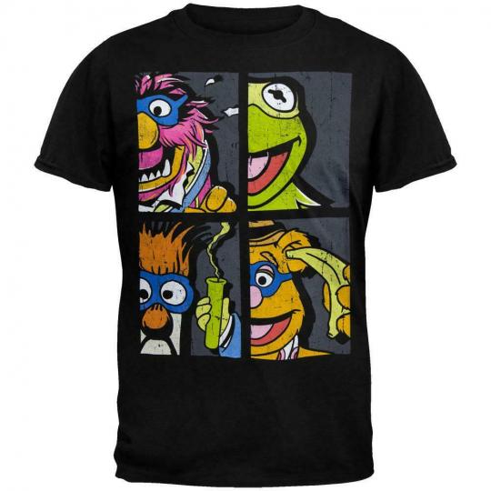 Muppets - Masked Muppets Soft T-Shirt
