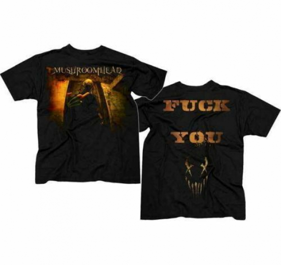 Mushroomhead Lil Dan T-Shirt Black Small Heavy Metal Band Shirt Official New