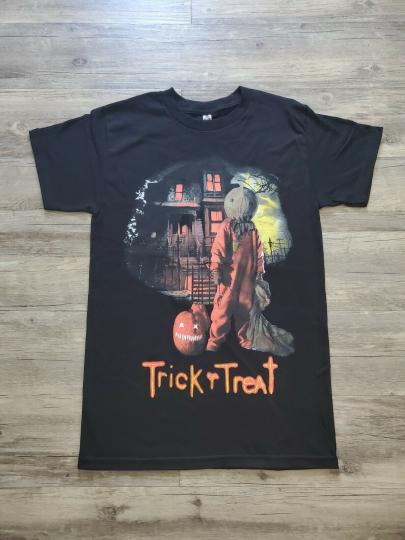 NEW SAM TRICK 'R TREAT T SHIRT
