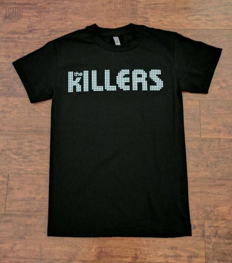 NEW THE KILLERS LOGO ROCK BAND T SHIRT