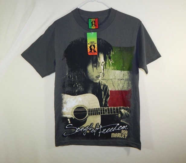 NWT Official Bob Marley Jamaica 420 Weed Rock Band Concert T Shirt Size SMALL S