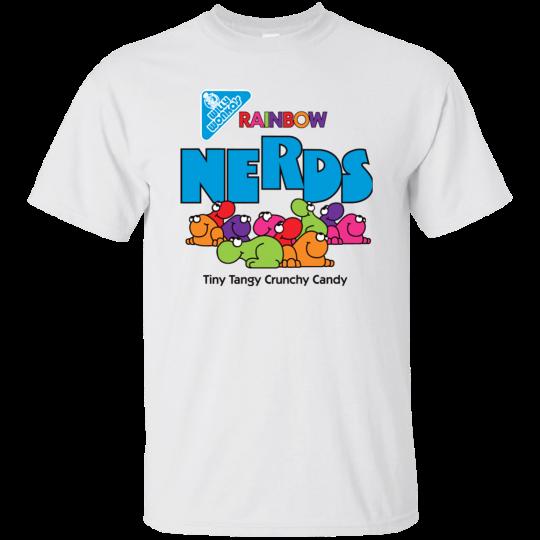 Nerd, Nerds, Candy, Willy Wonka, Retro, G200 Gildan Ultra Cotton T-Shirt