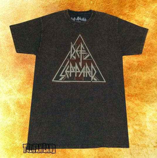 New Def Leppard Tie Dye Rustic Mens Vintage Classic T-Shirt