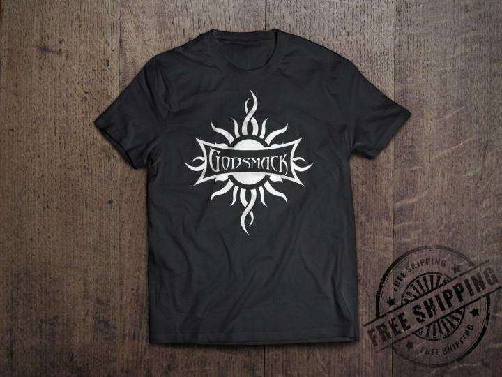 New Godsmack Metal Rock Band Logo Men's Black T-Shirt Size S-6XL