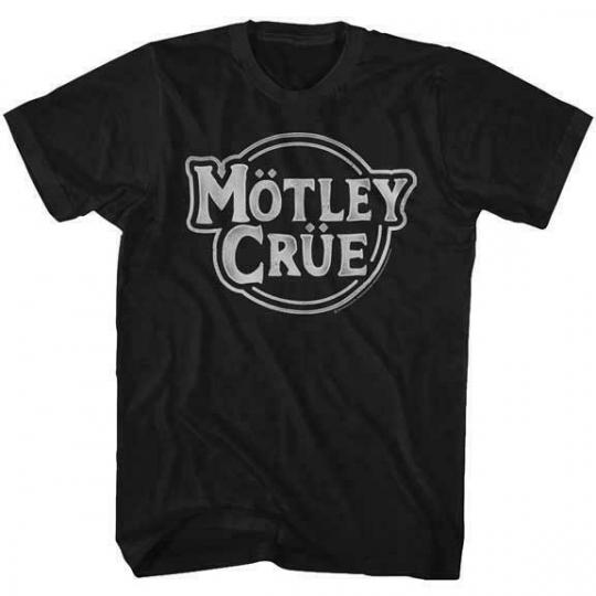 New MOTLEY CRUE Photo Glam Hair Metal Rock Music Band Licensed Concert T-Shirt D
