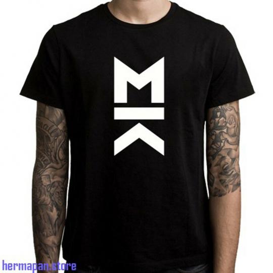 New Mallory Knox Logo Rock Band Men's Black T-Shirt Size S to 3XL