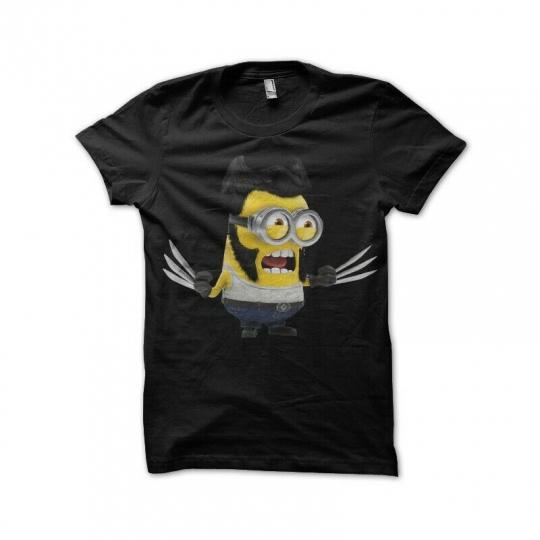 New Moi moche et méchant minion wolverine Men's T-Shirt Size S-2XL