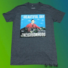 New PBS Mister Mr. Rogers It's a Beautiful Day in the Neighborhood Mens T-Shirt
