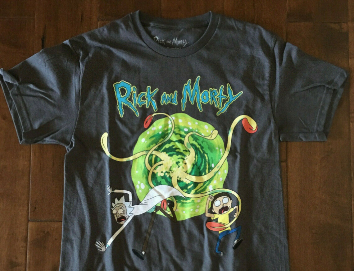 New Rick and Morty shirt S-2XL T-shirt Cartoon Network Adult Swim tee
